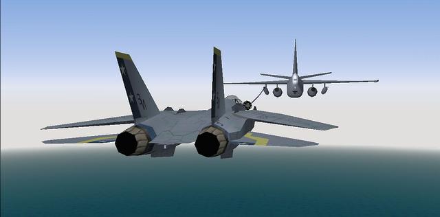 F14 Receiving Fuel